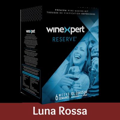 Winexpert Reserve 30 Bottle Red Wine Ingredient Kit - Italian Luna Rossa