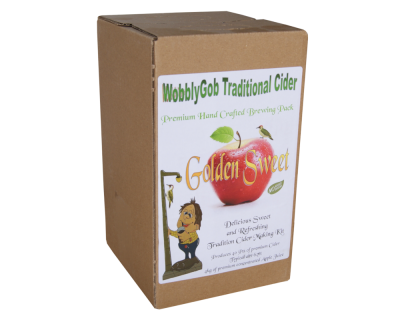 WobblyGob 4kg - Golden Sweet Traditional Cider