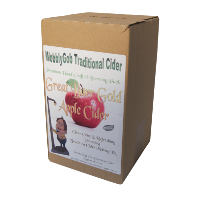 WobblyGob 4kg - 40 Pint - Great Barr Gold Apple Cider Ingredient Kit
