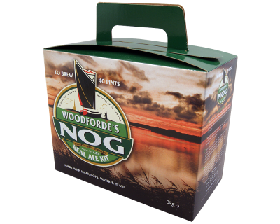 SPECIAL OFFER - Woodfordes Nog - 40 Pint Beer Kit - Damaged Box