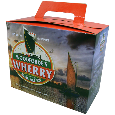 SPECIAL OFFER - Woodfordes Wherry - 40 Pint Beer Kit - Badly Dented Tins