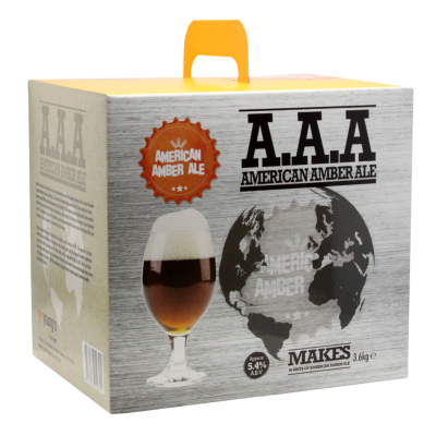 Youngs Boxed 3.6kg - American Amber Ale - A.A.A.
