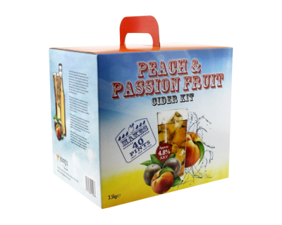 Youngs Boxed - Peach & Passion Fruit Cider