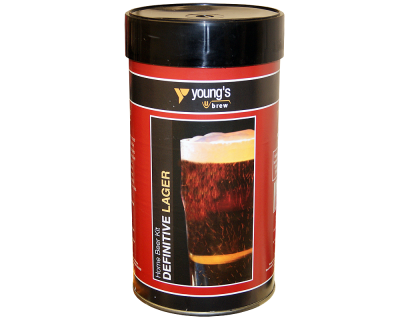 SPECIAL OFFER - Youngs Definitive Lager - 40 Pint Ingredient Kit - Dented Tin