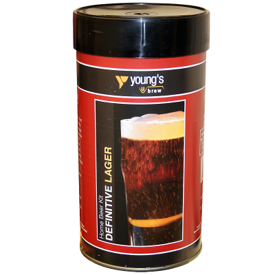 Youngs Definitive Lager - 1.5Kg 40 Pint Ingredient Kit