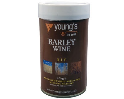 SPECIAL OFFER - Youngs Harvest Barley Wine - 24 Pint Ingredient Kit - Dented Tin