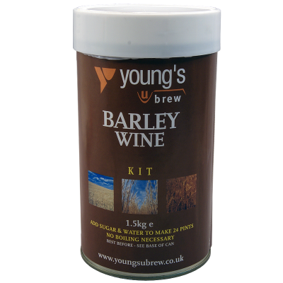 SPECIAL OFFER - Youngs Harvest Barley Wine 24 Pint Ingredients - Damaged Tin